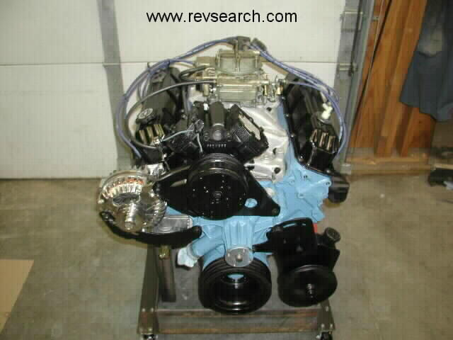 Custom Crate 375 horsepower 360 Dodge Street Engine.