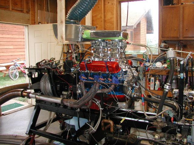 A 428 Pontiac. 110K