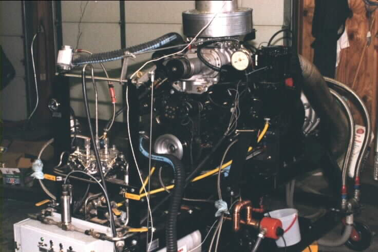 Chevy 350 boat engine. 43K