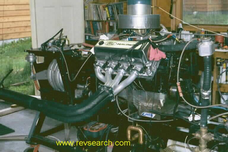 A 460 Ford crate engine. 45K